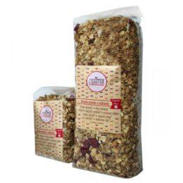 Fruštek granola z malinami MAXI 1kg