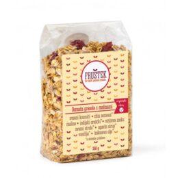 Fruštek granola z malinami 350g