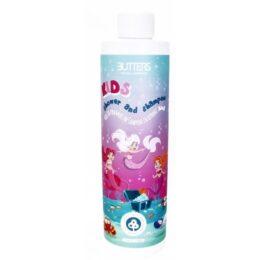 Otroški gel za prhanje in šampon Butter roza