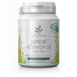 Otroški vitamin D3  25µg/1000i.u 60 kapsul