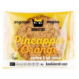 BIO piškot ananas in pomaranča 50g Kookie cat