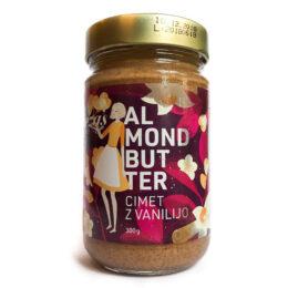 Mandljevo maslo s cimetom in vanilijo Tereza's choice 300g