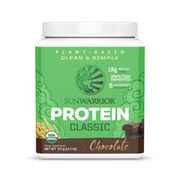 Sunwarrior Classic rastlinski proteini Čokolada 375g