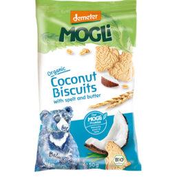 Eko pirini piškoti s kokosom Medved MOGLI