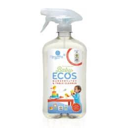 Naravno čistilo za otroške igrače in sobo ECOS