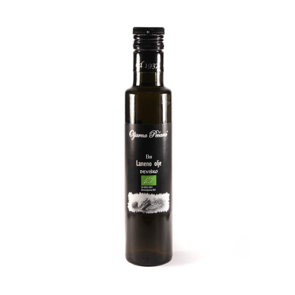 Laneno olje iz ekološke pridelave 250ml