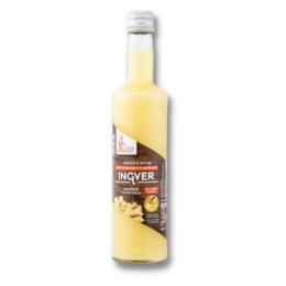 Ingverjev sirup brez sladkorja 0,5l
