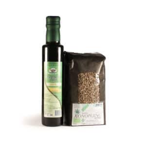Konopljino seme+olje