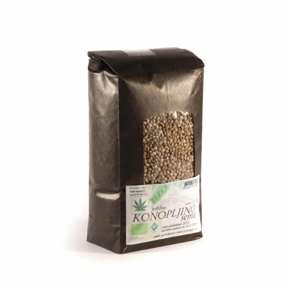 Konopljino seme ekološke pridelave 0,5kg