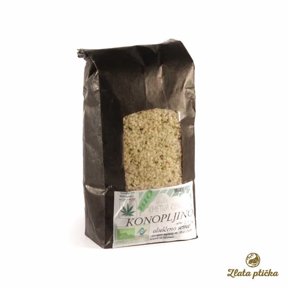 Konopljino seme oluščeno iz ekološke pridelave 0,5kg