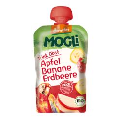 Eko smuti z jagodo, banano in jabolkom 100g Mogli