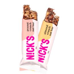 Veganska hrustljava ploščica DVOJČEK Nick's