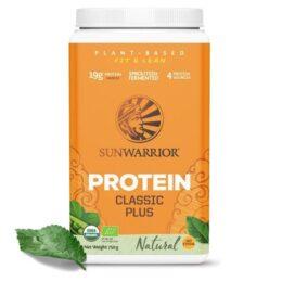 Sunwarrior proteini SUN CLASSIC PLUS Natural 750g