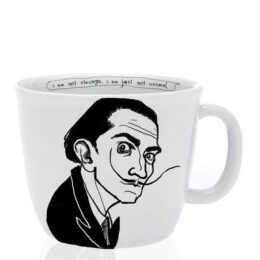 SALVADOR, the surrealistic one, 35cl mug