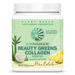 Kolagen booster Beauty greens PINA COLADA Sunwarrior 300g