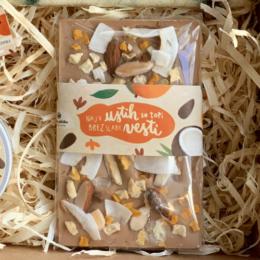 Mandljeva čokolada Mango Kokos