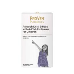Multivitamini in probiotiki za otroke ProVen od 4. leta dalje