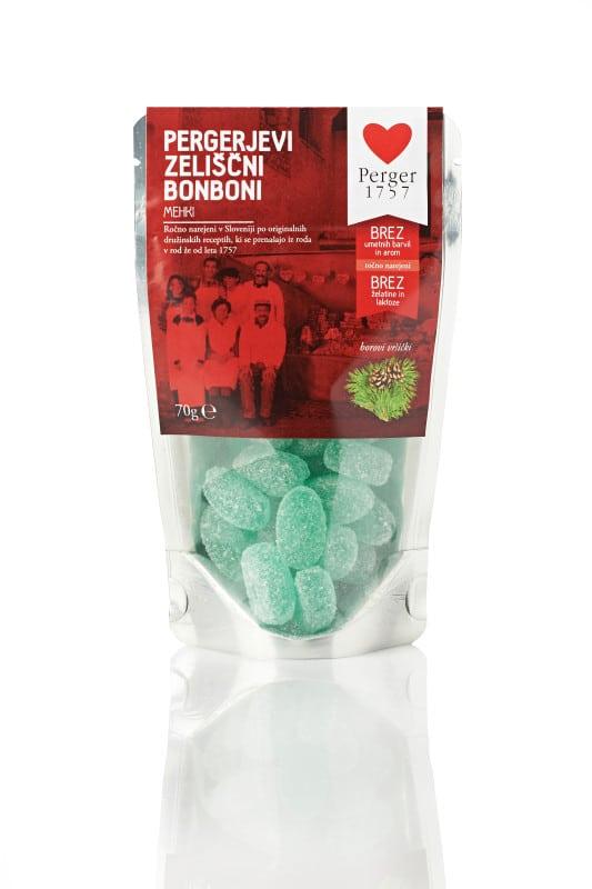Pergerjevi zeliščni bonboni mehki 70g