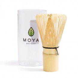 Bambusova metlica chasen Moya matcha