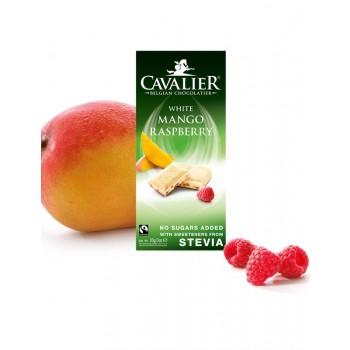 Bela čokolada brez sladkorja z mangom Cavalier 85g