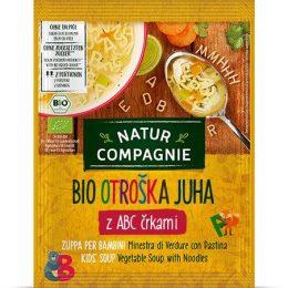 Bio zelenjavna juha s testeninami, otroška 50 g