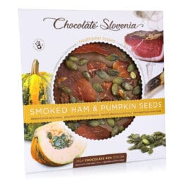 Mlečna čokolada s šunko in bučnimi semeni Carniola