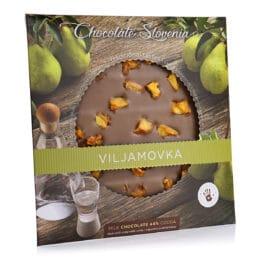 Mlečna čokolada z viljamovko Carniola