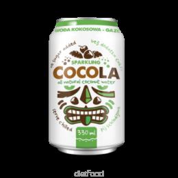 Kokosova voda GAZIRANA, Cocola Dietfood 330ml