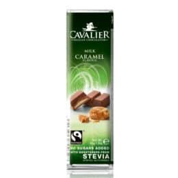 Mlečna čokolada s karamelo Cavalier 40g