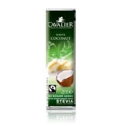 Bela čokolada brez sladkorja Kokos Cavalier 40g