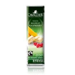 Bela čokolada brez sladkorja z mangom Cavalier 40g