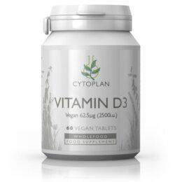 Veganski vitamin D3 60 kapsul
