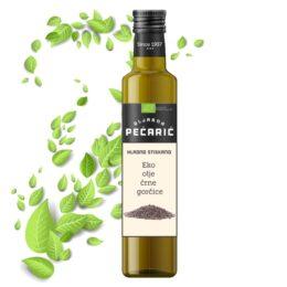 Olje črne gorčice iz ekološke pridelave 250ml