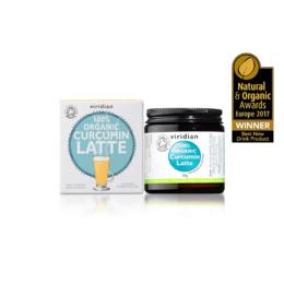 Ekološki kurkumin latte Viridian 30g
