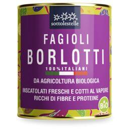 Ekološki vloženi rjavi fižol Barlotti 400g