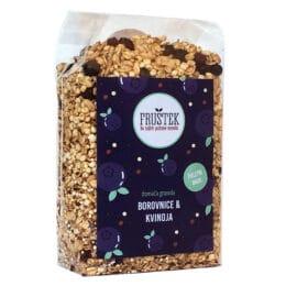 Fruštek borovnice in kvinoja 350g