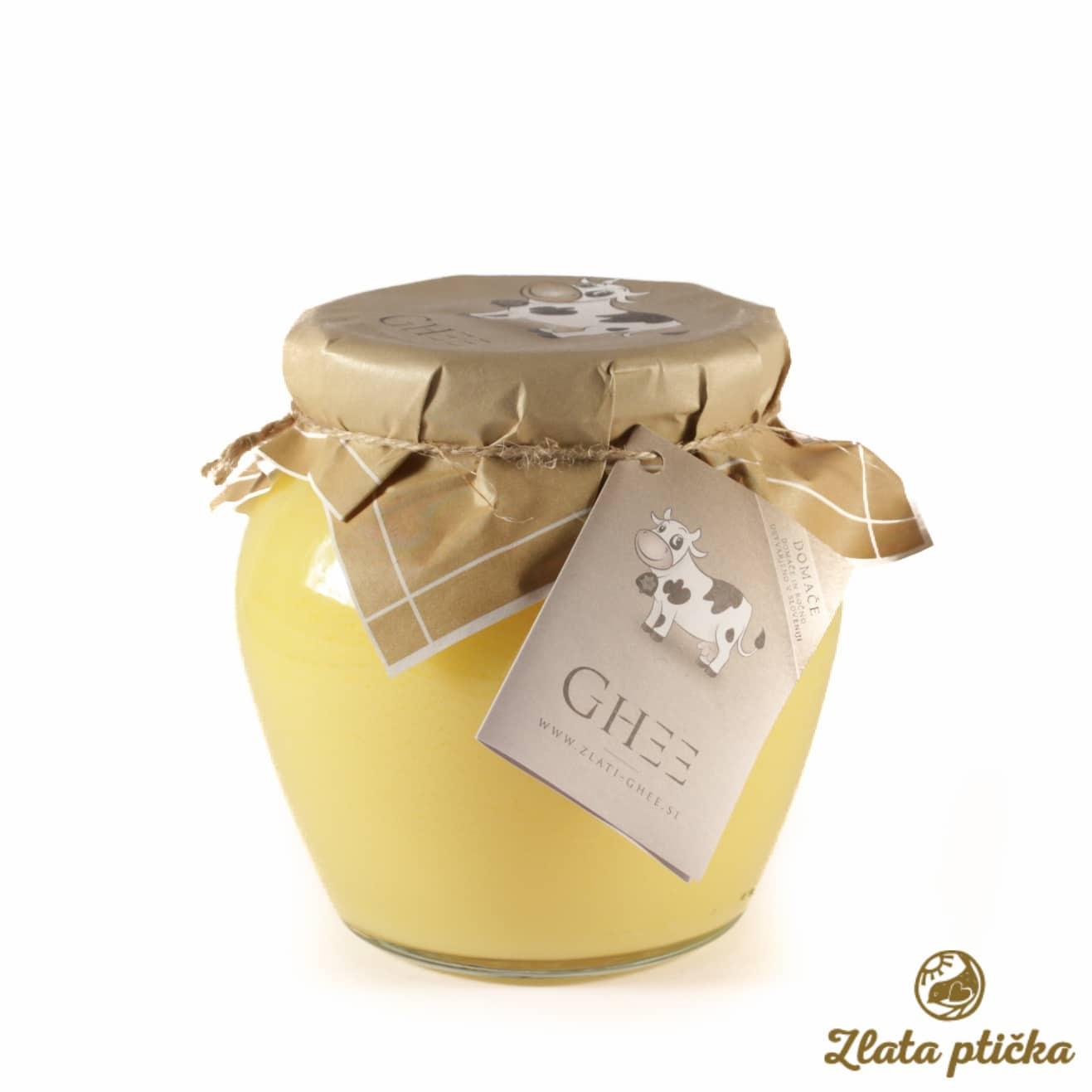 Ghee Zlato maslo 430g
