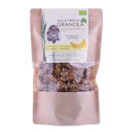 BIO presna granola BANANA VANILIJA Drobtinka 230g