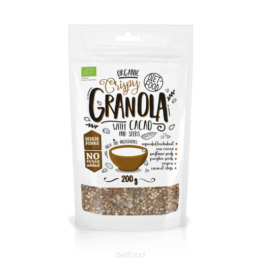 Bio Granola s kakavom in semeni Dietfood 200g