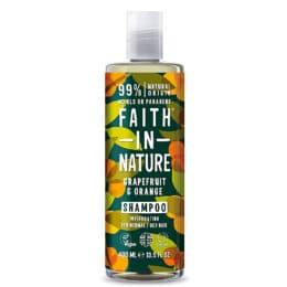 Šampon za mastne lase grenivka pomaranča 400ml