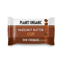 Hazelnut butter cup Planet organic 25g