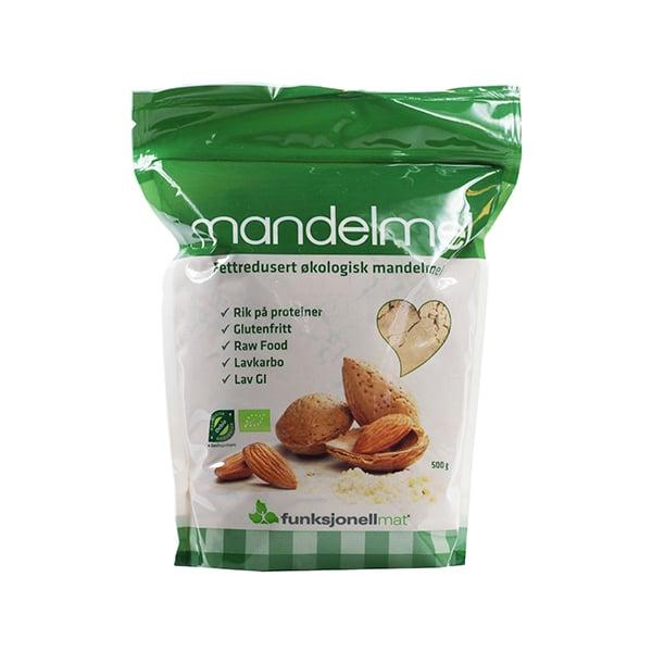 Sukrin bio razmaščena mandljeva moka 400g