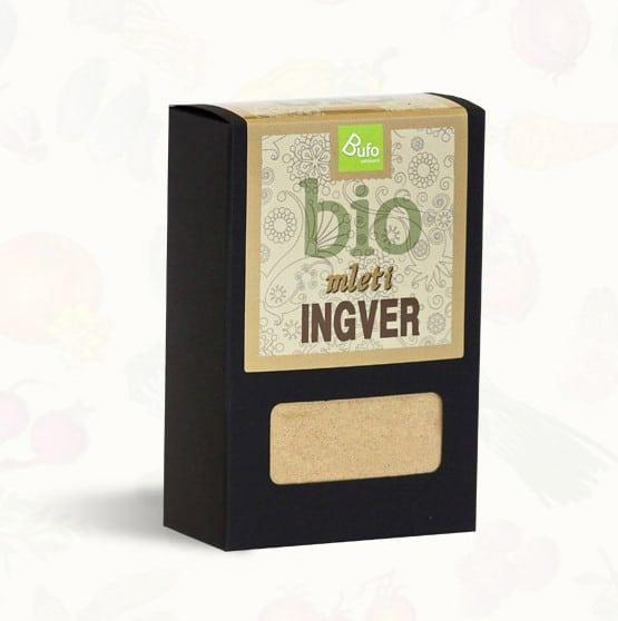 BIO Ingver v prahu 100g