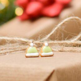 Uhani Božične kape