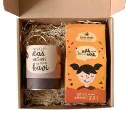 Paketek za dober začetek KAVA & PIŠKOTI