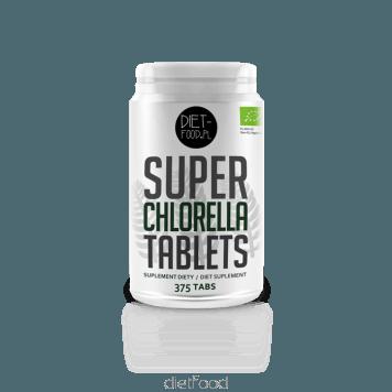 Bio Chlorella Dietfood 375 stisnjenk