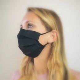 Pralna maska črna