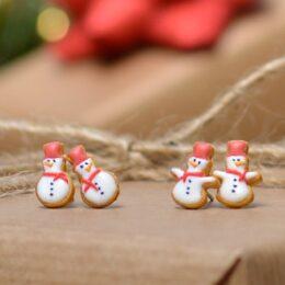 Mali uhani Snežaki