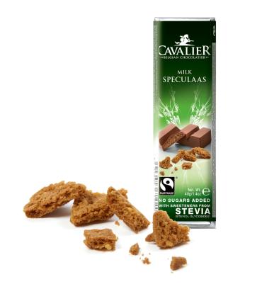 Mlečna čokolada s piškotom Cavalier 40g