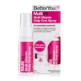 Multivitamini v spreju MultiVit BetterYou 25 mL